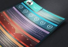 Eye Candy Resume Template by @Graphicsauthor