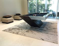 Catalina Pool Table By MITCHELL Mitchell Pool Tables Chrome Pool - Chrome pool table