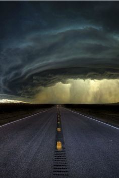 The road through my head, is nothing compared to the storm in my heart.