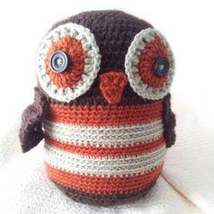 Lucy's Owl amigurumi pattern