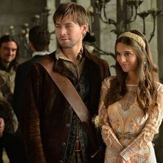 """Reign -- """"The Prince of the Blood"""" -- Image Number: -- Pictured (L-R): Torrance Coombs as Bash and Caitlin Stasey as Kenna -- Photo: Ben Mark Holzberg/The CW -- © 2014 The CW Network, LLC. All rights reserved. Reign Season 2, Season 1, High Society, Sebastian De Poitiers, Reign Bash, Bash And Kenna, Serie Reign, Kenna Reign, Torrance Coombs"""
