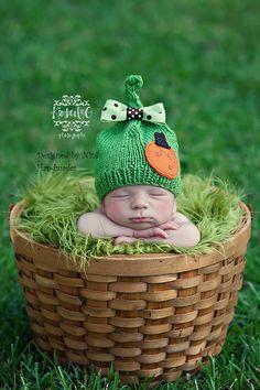 What a cutie pie. I love this little hat. Such a cute photo.