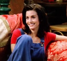 Introduction Pin 1: Monica Geller-Bing is one of the six main characters on the TV show FRIENDS. She is a white female from New York. Throughout the show, she moves from mid-20s to early 30s, which puts her directly in the early adulthood stage. Monica experiences many changes and developments throughout the series as she gets further into early adulthood.