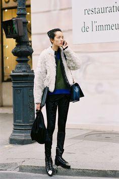 Paris Fashion Week AW 2013....Fei Fei - Vanessa Jackman
