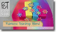 Even multicolored polymer clay Rainbow Skinner Blends are easy when you use my Teardrop Blend Method. Wanna see? #polymerclaytutorials #teardropblend #skinnerblend http://www.beadsandbeading.com/blog/rainbow-teardrop-blend-multicolored-skinner-blend/18549/