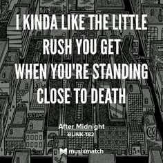 Blink-182 - After Midnight | Neighborhoods | 2011 Lyric quote lyrics quotes mark hoppus travis barker tom delonge matt skiba alkaline trio