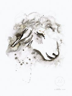 Daydreaming – Limited edition, signed and numbered art print by Elise Stalder. Number Art, Daydream, Art Prints, Abstract, Artist, Artwork, Animals, Art Impressions, Summary