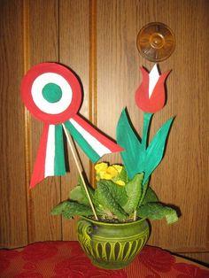 Kreatív ötletek március 15-ére - Színes Ötletek Blog Lebanon Independence Day, Classroom Decor, Origami, Kindergarten, Crafts For Kids, Preschool, March, Flag, Easter