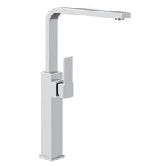 Bathroom Faucet, Remer Q11GLXLUS, High One Hole Sink Mixer with Long Movable Spout Q11GLXLUS