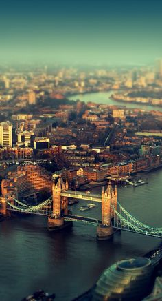 {London. A place where my dreams came true.}