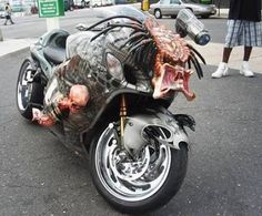 Predator Motorcycle I don't normally like crotch rockets but this is awesome