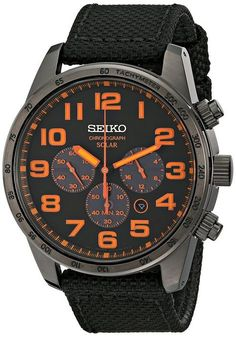 Amazon.com: Seiko Men's SSC233 Sport Solar Brushed Brown Stainless Steel Watch: Seiko: Watches