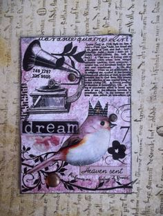 The Good Life Another Artist Trading Card/ACEO by AlteredHead, $9.50