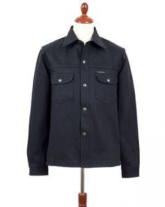 Re-stock. Indigofera Jeans, Fargo Shirt Gunpowder. (denim, jeans, selvage, workwear)