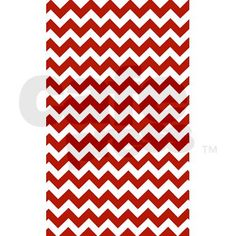 Chevron Red White 3 X5 Area Rug