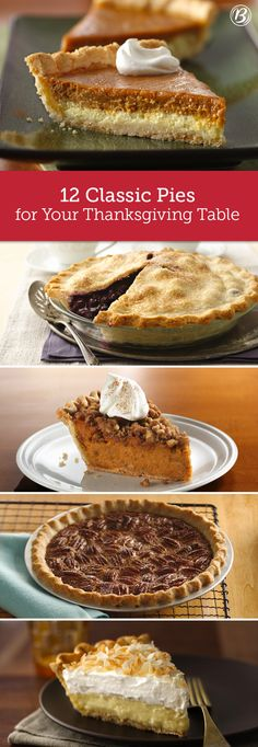 It wouldn't be Thanksgiving without pie! Whether it's classic apple or pumpkin, or something a little over the top (hello, Cinnamon Streusel Sweet Potato), Betty has a pie for every Turkey Day table. These 12 classics are our most-loved and highest rated!