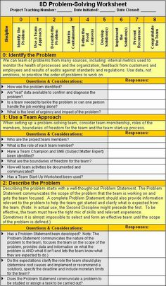 21 Problem solving Worksheet Template Problem Solving Method with Excel template The children can enjoy Number Worksheets, Math Worksheets, Alphabet Worksheets, . Visual Management, It Service Management, Change Management, Business Management, Strategic Planning, Lean Six Sigma, Business Analyst, Business Education, Cheat Sheets