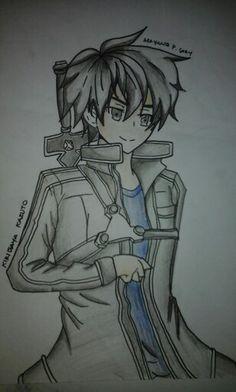 Kirigaya kazuto.... my creation ♡