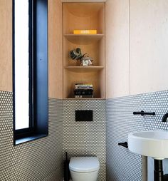 Space Saving Toilet Design for Small Bathroom 45 Large Bathrooms, Modern Bathroom, Small Bathroom, Bathroom Ideas, Bathroom Designs, Cosy Bathroom, Bathroom Pink, White Bathrooms, Modern Shower