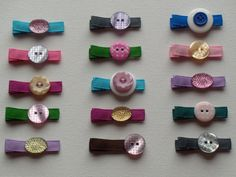alligator hair clips, by two dot designs on Etsy