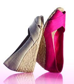 Spring Trend: Bold Wedges LAUREN RALPH LAUREN #espadrilles #sandals BUY  NOW!