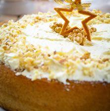 Έτσι κάτι διαφορετικό και εντυπωσιακό συνάμα για να ξεφύγουμε λίγο από την πεπατημένη της απλής βασιλόπιτας κέικ!!! Christmas Sweets, Christmas Art, Vasilopita Cake, New Year's Cake, Cake Bars, Greek Recipes, Vanilla Cake, Biscuits, Pie