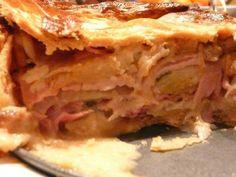 ΜΑΓΕΙΡΙΚΗ ΚΑΙ ΣΥΝΤΑΓΕΣ: Πίτα με ζαμπόν, παρμεζάνα και αυγά!