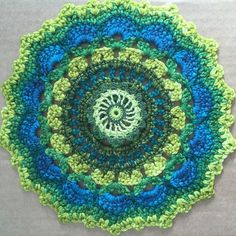 Anonymous #Crochet Mandalas for Mandalas for Marinke project