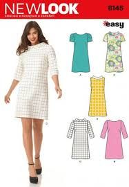 a23f03d2f6cf59 New Look Sewing Pattern 6145 - Misses  Dress Sizes