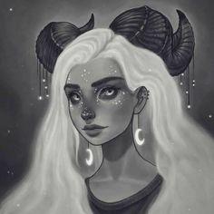 Likes, 27 Comments - Anthulu ( Art Drawings, Drawing Portraits, Fantasias Halloween, Drawn Art, Pencil Portrait, Pretty Art, Art Inspo, Art Girl, Bunt