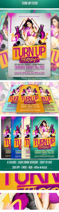 Ladies Night Party Psd Flyer Templates Ladies Night Party Psd