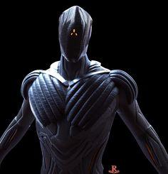 ArtStation - Mech Suit, Ricardo Dorantes Alien Concept Art, Armor Concept, Futuristic Armour, Futuristic Design, Space Opera, Arte Robot, Future Weapons, Sci Fi Armor, Super Soldier