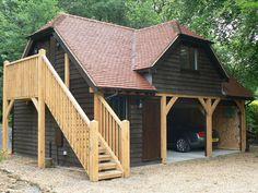Oak Framed Garages in Oxfordshire, Hampshire, Berkshire and Buckinghamshire