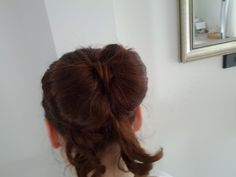 Hair Bow with Tails