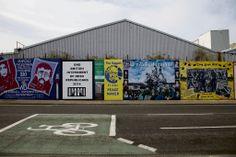 Belfast | Muurskilderye met politieke boodskappe