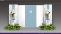 Photo Station 6 Wedding Backdrop Design, Wedding Stage Design, Ceremony Backdrop, Wedding Show, Engagement Decorations, Backdrop Decorations, Backdrops, Wedding Decorations, Baby Blue Weddings