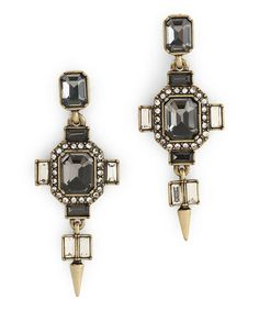 Another great find on #zulily! Crystal Vintage Spike Earrings by C. Wonder #zulilyfinds
