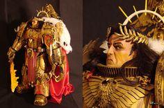 The Emperor of Mankind 02 by DamienThevenin on deviantART