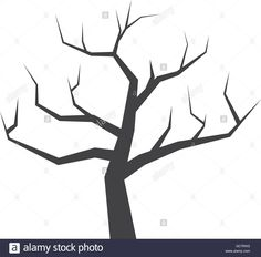 Dry Tree Icon. Nature Design. Vector Graphic Stock Vector Art & Illustration, Vector Image: 110807188 - Alamy