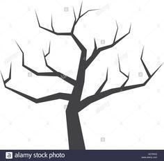Dry Tree Icon. Nature Design. Vector Graphic Stock Vector Art & Illustration, Vector Image: 110807188 - Alamy
