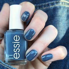 Essie Spring Collection 2018 'Anchor Down' Love this gorgeous Essie blue polish!!!