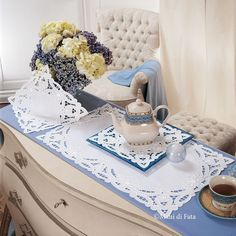 Cutwork embroidery – drawings and ideas for house linen Cutwork Embroidery, Embroidery Patterns, Crochet Tablecloth, Doilies, Table Decorations, Drawings, Home Decor, Google Search, Wood