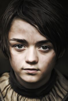 Arya Stark by MaisterArt.deviantart.com on @DeviantArt