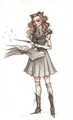 Hermione Granger by TallyTodd on deviantART