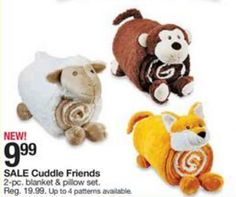 Kmart Thursday Door Busters 2015: Cuddle Friends Only $9.99