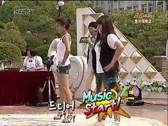 Sistar's Bora pre debut dancing to 4minute 씨스타 보라