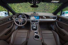 planche de bord porsche panamera hybride 2017