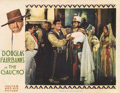 Lobby Card from film The Gaucho