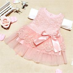 Competent 2pcs Set Baby Girls Clothes Floral Print Short Sleeve Romper Suspender Skirt Princess Party Dress Up Birthday Cake Smash Outfit Clothing Sets