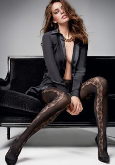 Emily DiDonato is back in black for Calzedonia's fall-winter 2015 campaign. After appearing in several shoots for the Italian hosiery and apparel label, the Sports Illustrated Swimsuit model stars in her sexiest feature yet featuring all black styles. Emily, who first started modeling at the age of 17, poses in hosiery looks embroidered with lace …